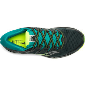 saucony Hurricane ISO 5 Shoes Men, green/teal